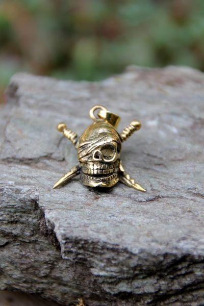 Anhänger Piratenschädel