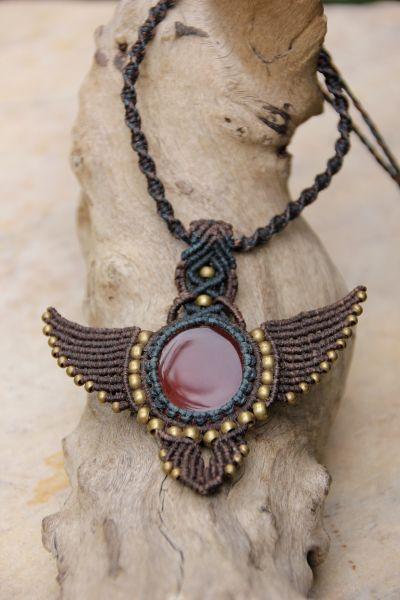 Halskette Karneol
