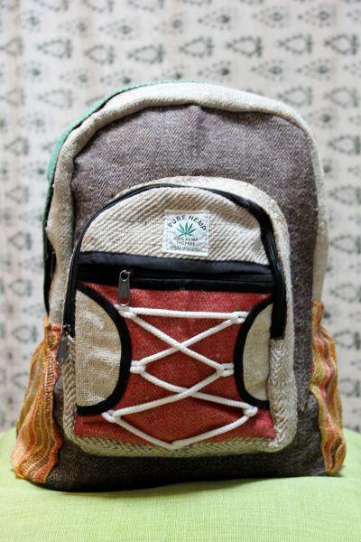 Hanf Rucksack aus Nepal