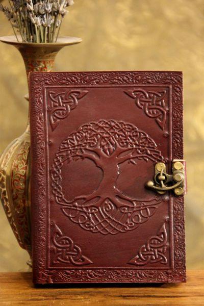 Lederbuch, Baum des Lebens ll