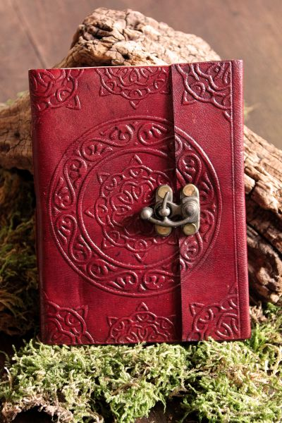 Lederbuch keltisches Design ll