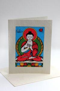 Grußkarte Buddha