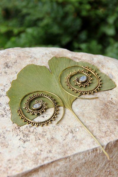 Spiral-Ohrringe