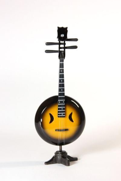 Miniatur Banjo Orange Gelb