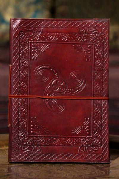 Lederbuch Triskele l