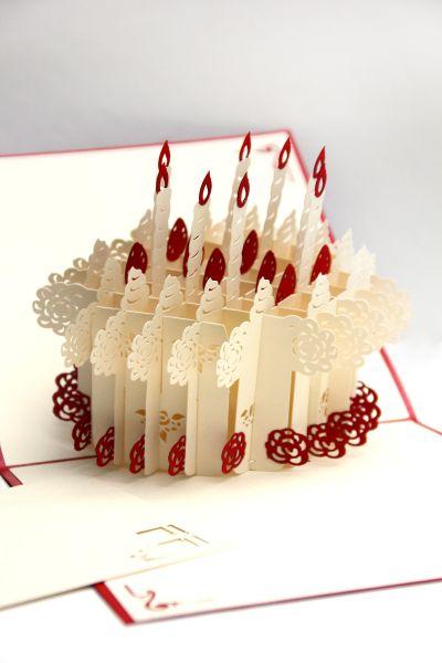 Pop up Karte Geburtstag