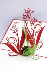 Pop up Karte Blumen