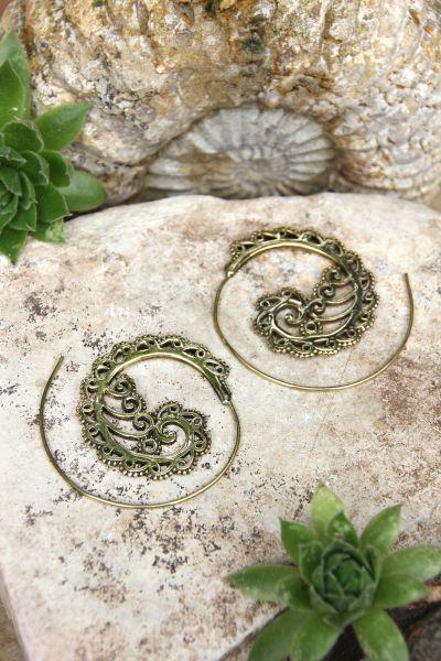 Spiral Ohrringe
